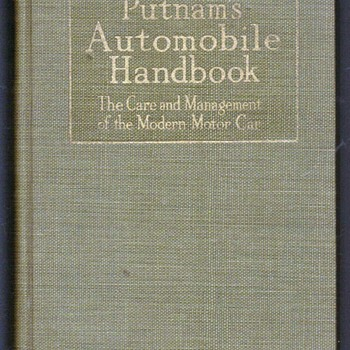 1918 - Putnam's Automobile Handbook - Books