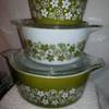 Pyrex Bowls and Casseroles