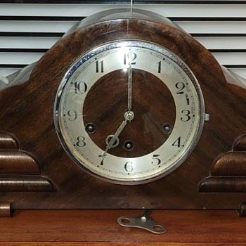 Vintage ODO Art-Deco Mantle Clock 1930s - Art Deco