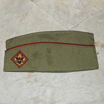 Vintage Boy Scout Garrison Cap 195os-1960s - Sporting Goods