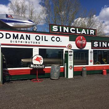 New Look old Station - Petroliana