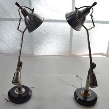 Desk Lamps by Edouard-Wilfrid Buquet