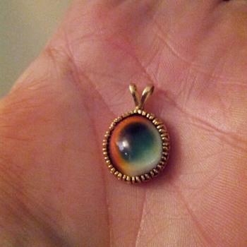 Beautiful and unique stone pendant.
