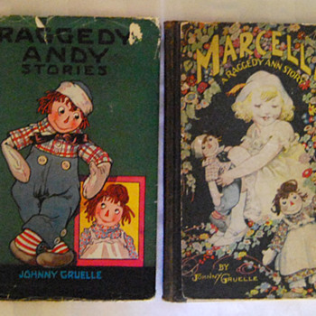 My Raggedy Ann & Andy Books