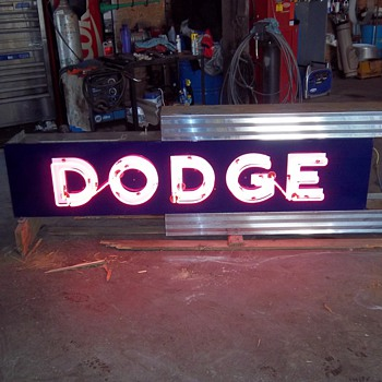 Dodge Dealership Neon Sign - Signs
