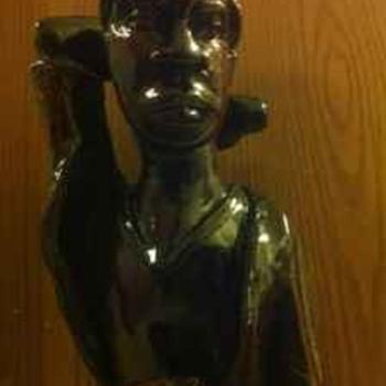 Haitian Wooden Sculptures - Fine Art