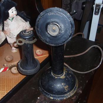 antique phone - Telephones