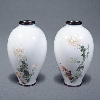 JAPANESE CLOISONNE PROVENANCE - What does it mean and when is the word relevant? - Asian