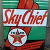 1950 Texaco Sky Chief Pump Sign