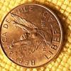 5 Pesos República de Chile, (South America) Libertad Coin. 1977. (11.IX 1973)