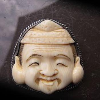 Netsuke Brooch - Fine Jewelry