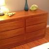 RWay Mid Century Double Dresser