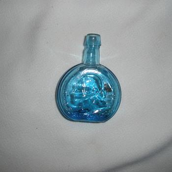Little small blue bottle - Bottles
