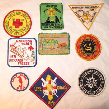 60's and 70's Boy Scout Patches - Medals Pins and Badges