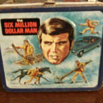 1974 Six Million Dollar Man Lunchbox by Aladdin. - Kitchen