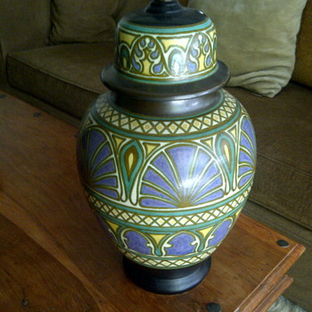 -end table lamp base...
