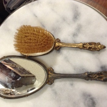 Antique vanity set
