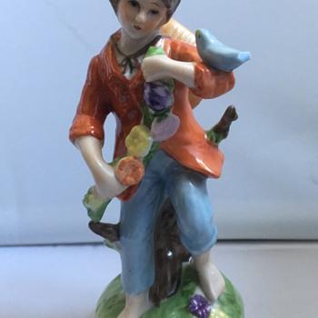 Antique German figure  - Figurines