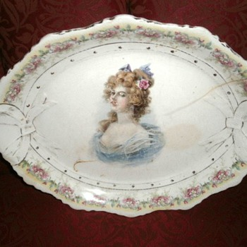 """Vintage Platter 13"""" inches - China and Dinnerware"""