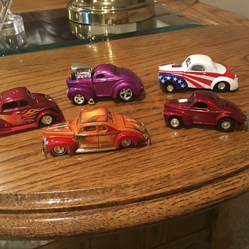 Willys Coupe Diecast - Model Cars