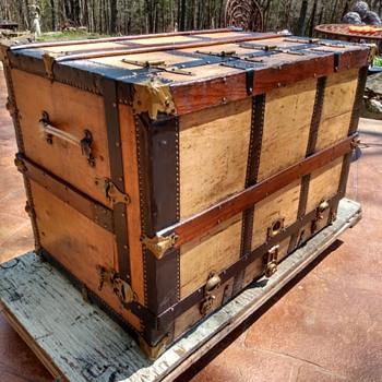 Restored 1909 Dresser Trunk - Furniture