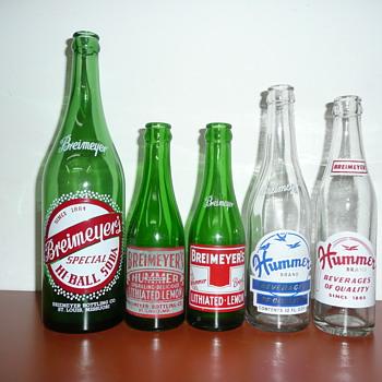 Breimeyer Bottling Co.,ACL's - Bottles