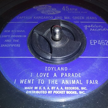 45 RPM SINGLE (EXTENDED PLAY)....#116 - Records