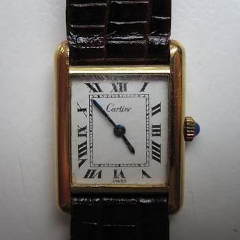 My 1970s Cartier Tank Watch