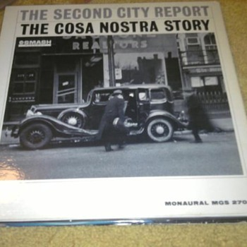 The Second City Report - The Costra Nostra Story LP Promo