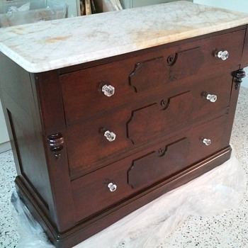 Dark Old Dresser - Furniture
