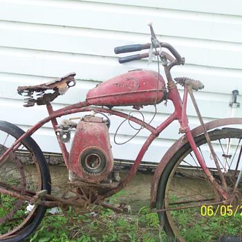 Whizzer motor bike