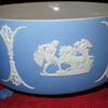Wedgwood Blue Jasper Dip Footed Bowl (Pre 1900's)