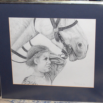 Pencil Drawing -- Help with Identifing Artist