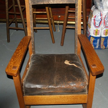 Mission Rocking Chair - Furniture
