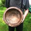 Antique West African Bowl Akan Baule Folk Art Decorator Tribal Primitive