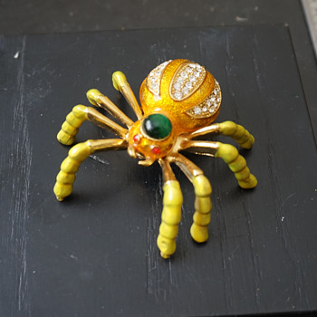 Spider Trinket Box - Costume Jewelry