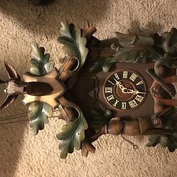 Deer cuckoo  - Clocks