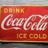 1948 Tin Coca Cola sign Canada