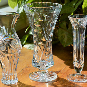 How do I clean? Clear Vases.... - Glassware
