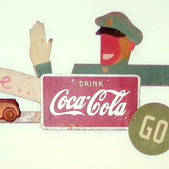 1930's Coca-Cola Festoon  - Coca-Cola