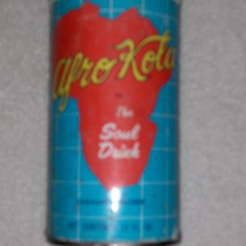 "Afro-Cola ""The Soul Drink"" - Advertising"
