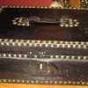 Leather Covered Document Box
