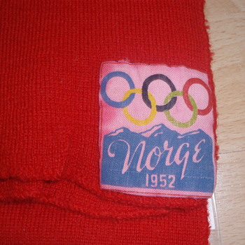 Scarf 1952 winter olympics - Sporting Goods