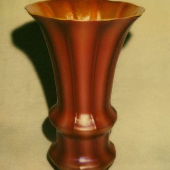 DURAND ART GLASS SHADE, circa 1928 - Art Glass