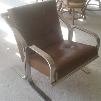 Need help identifying value and manufacturer of my chair! - Furniture