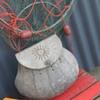c1900 handmade fishing creel