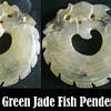 Jade Carp Fish Pendent