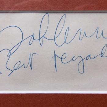 John Lennon autograph-1975 - Music Memorabilia