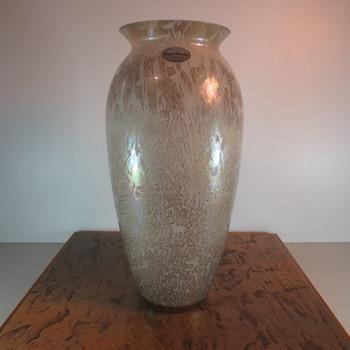 Royal Brierley Vase - Art Glass