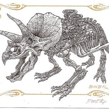 Emek Dino Card - Postcards